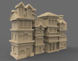 3D asset House street