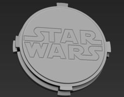 3D printable model Decorative Star Wars Base Stand for