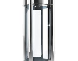 3d model metal detector safety cabin