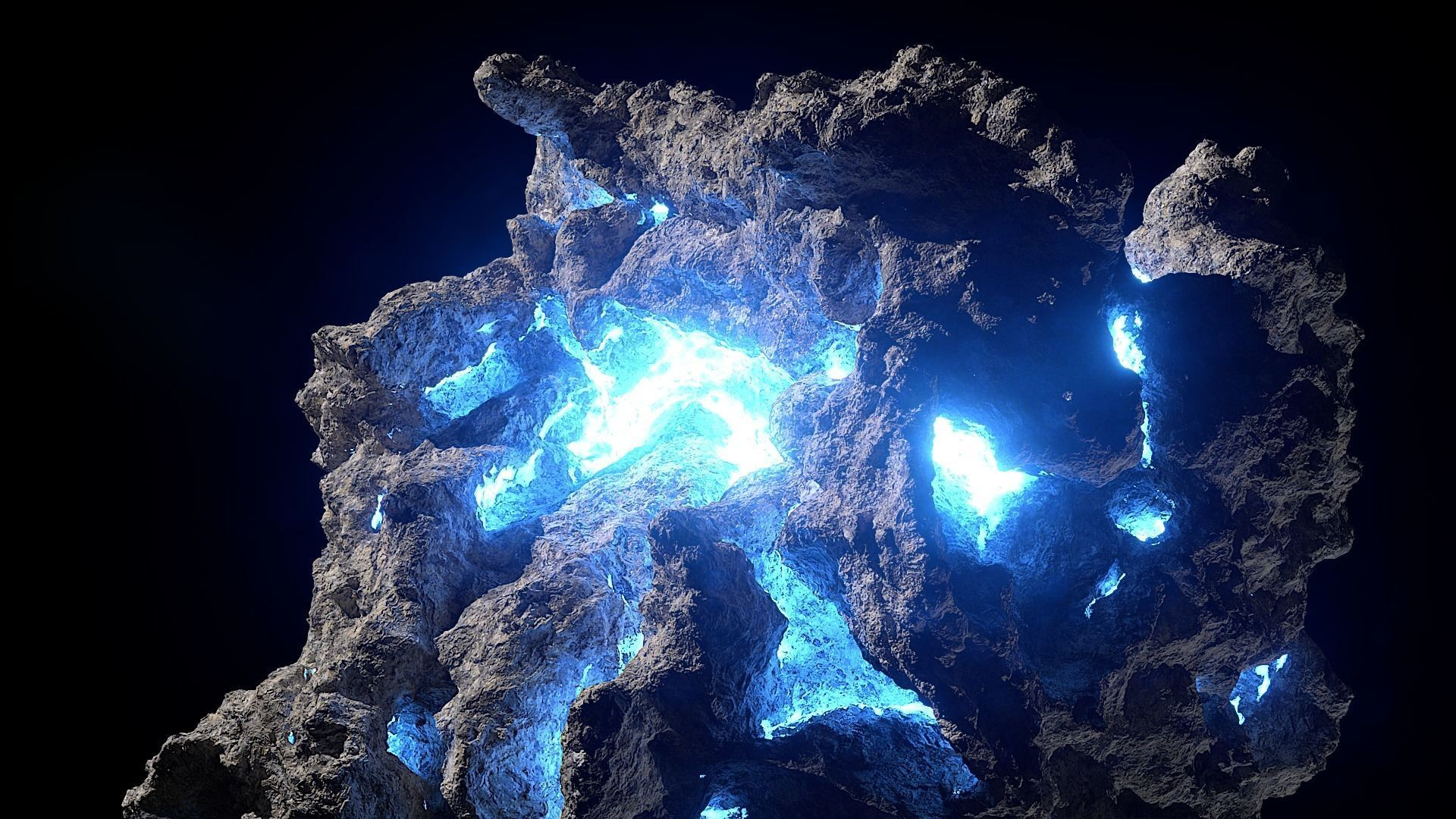 HighRes Asteroids Pack for Production