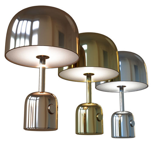 tom dixon bell table lamp 3d model max obj mtl fbx mat 1