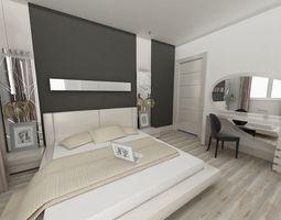 MODERN BEDROOM 3D bedroom