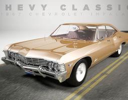 Chevrolet Impala 1967 4 doors 3D model