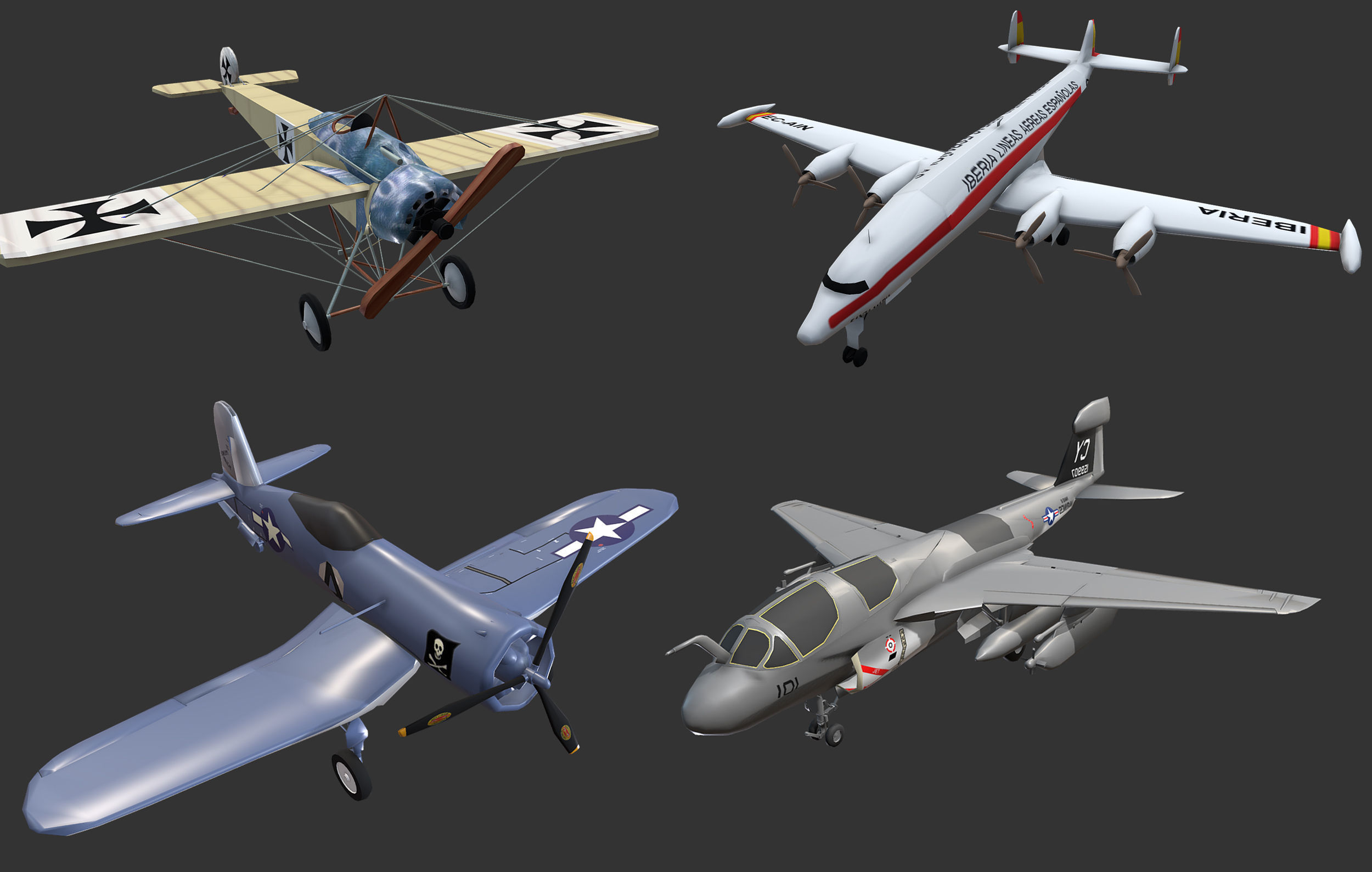 Aircrafts Collection4
