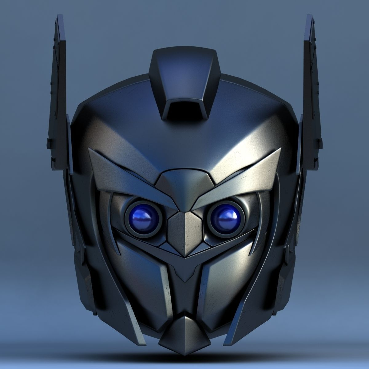 Robot Head A 3D Model .max