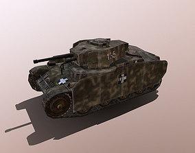 38M Toldi 2 Hungarian Light Tank 3D model
