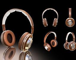 3D model head Headphones