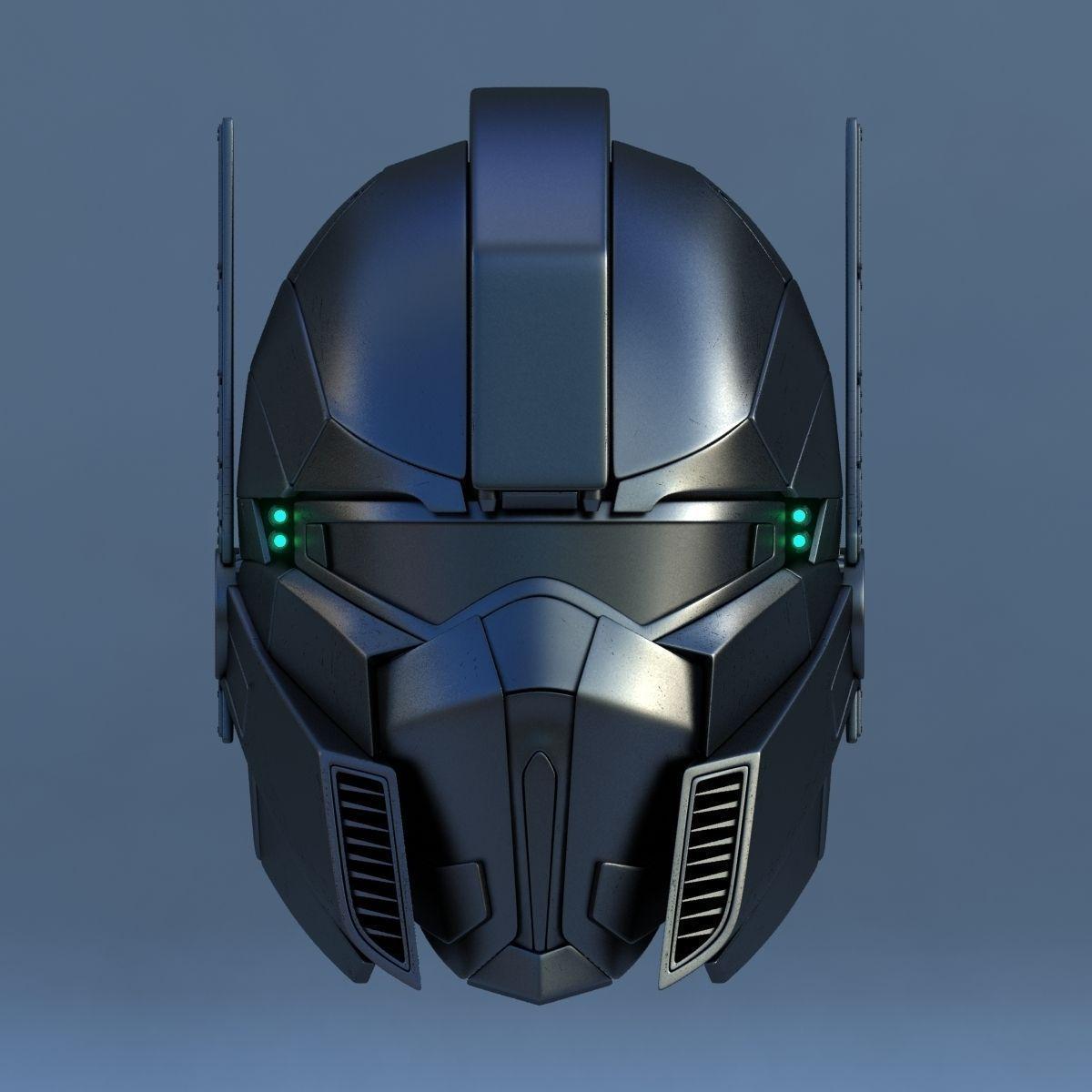Robot head c 3d model max cgtrader com