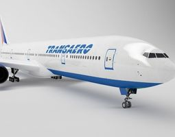 Boeing 777 - Element 3D