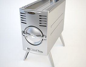SiberStove Portable Wood-Burning Multipurpose Stove 3D