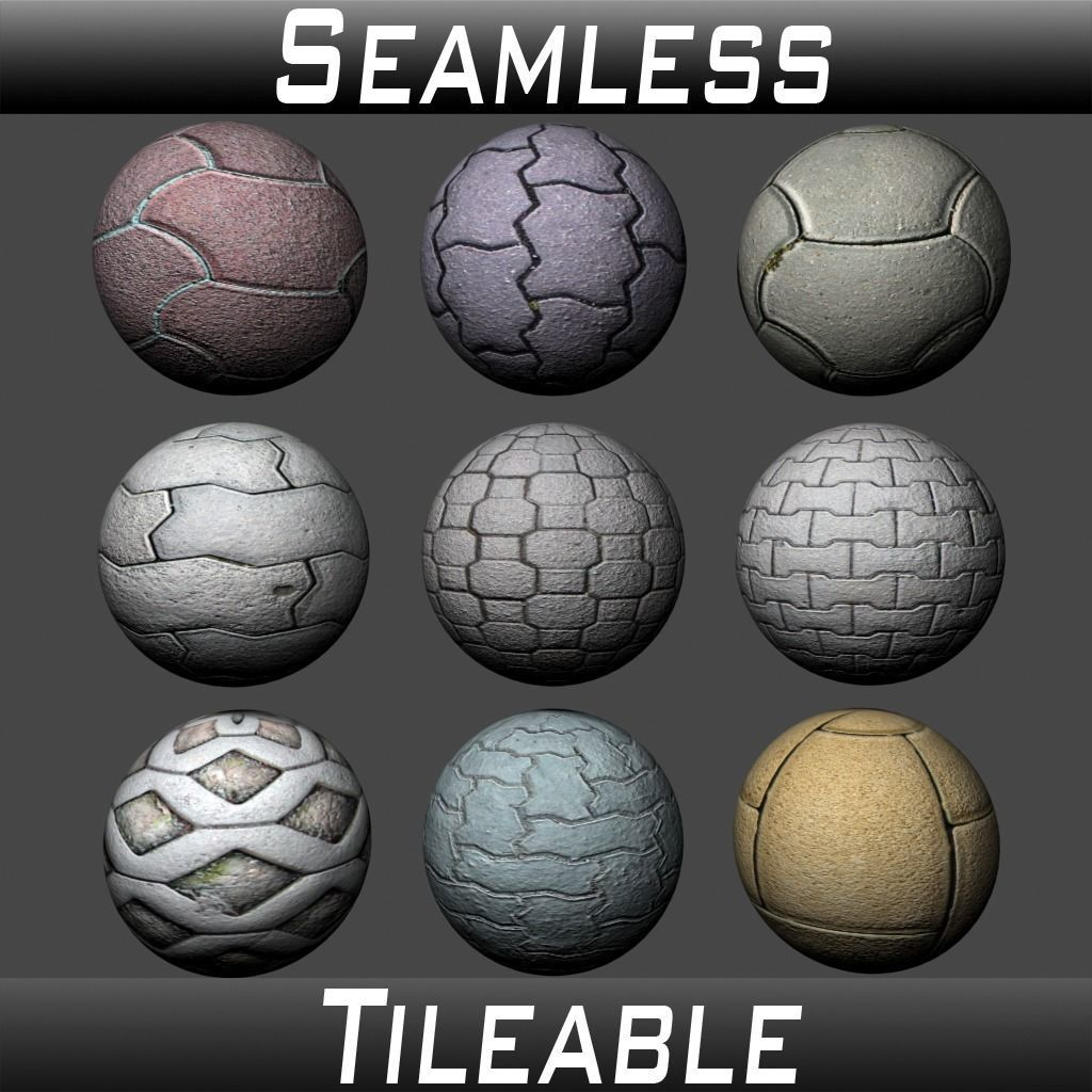 Floor Tiles Texture Pack 1