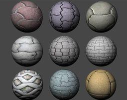 Floor Tiles Texture Pack 1 3D model