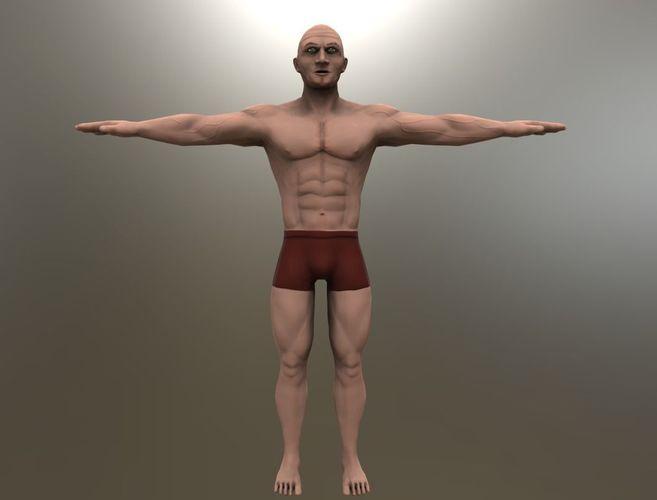 Stylized Man body