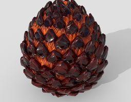 3D model Dragon egg PBR low poly