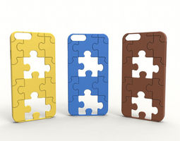 Iphone 6 Case - Missing piece 3D print model