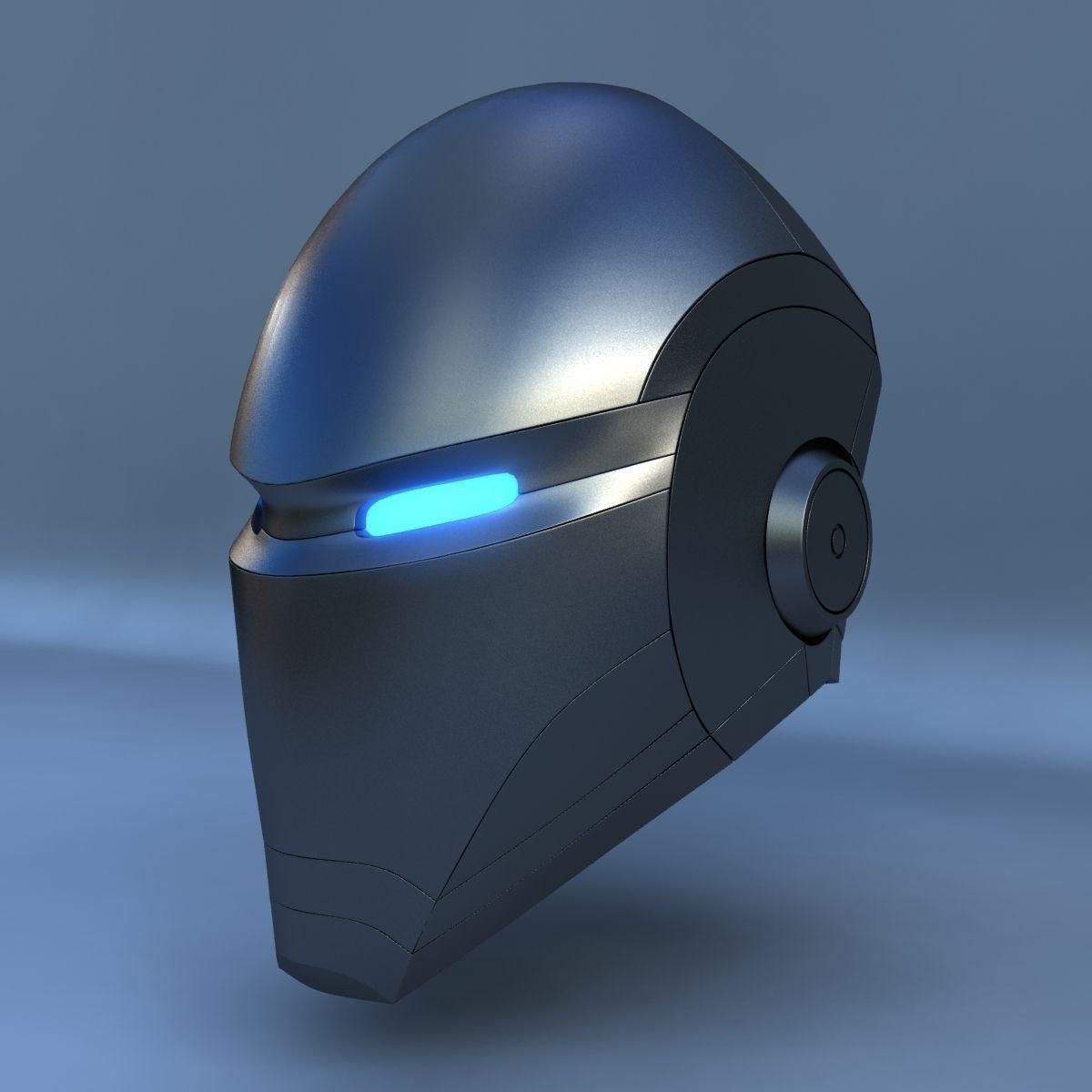 Robot Head E 3D Model .max