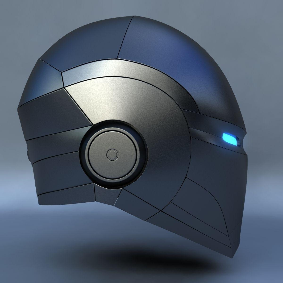 Robot Head E 3d Model Max Cgtrader Com