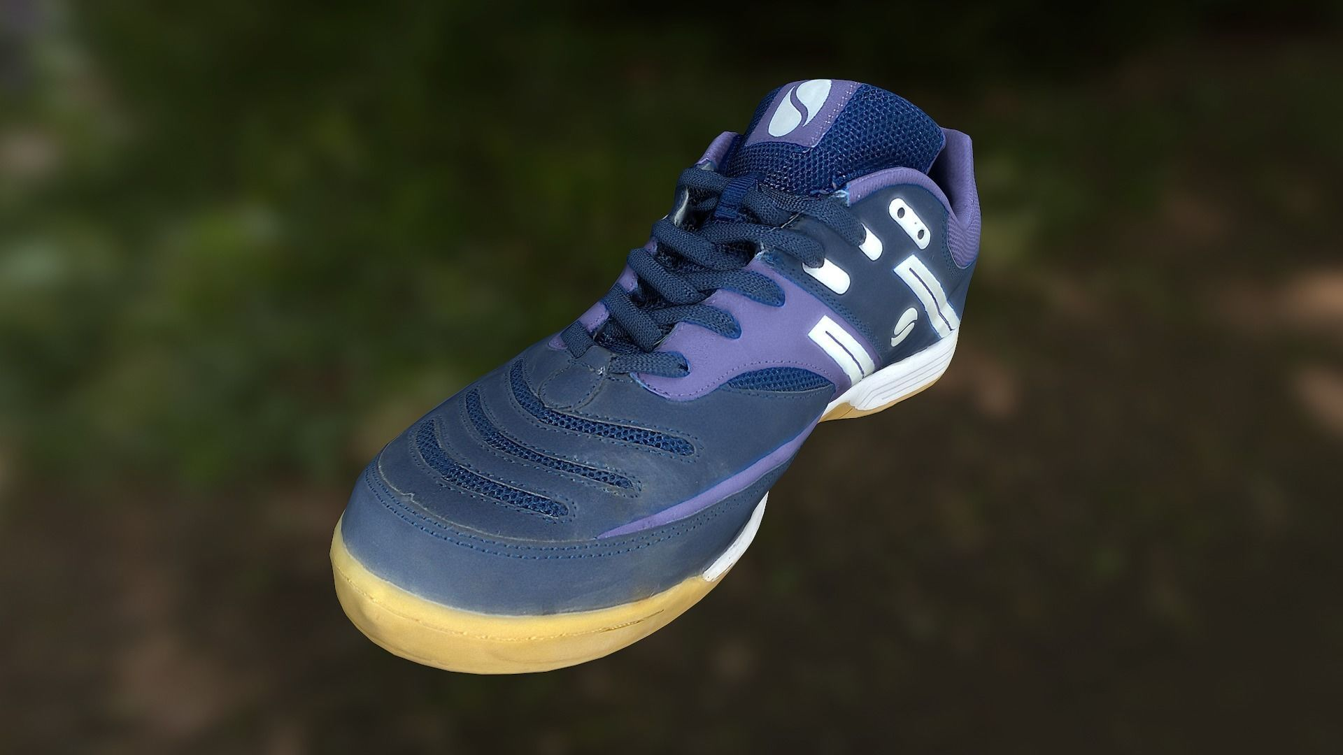Sport shoe low poly 3D model