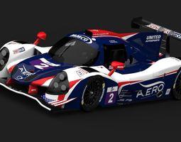 Ligier JSP3 - LMP3 3D asset low-poly