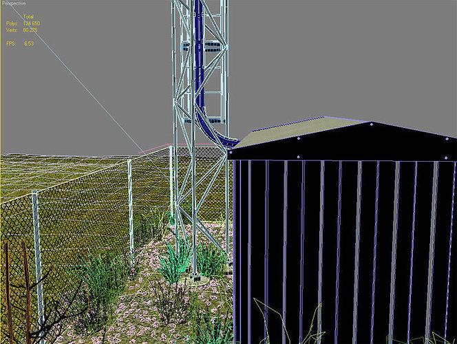 cellular mast 3d model max obj mtl fbx tga 1