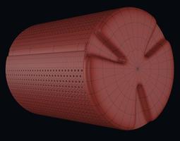 Drum Washing Machine 3D Model