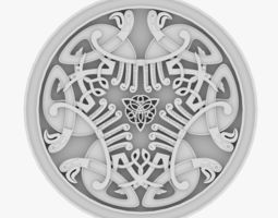 Celtic Ornament 11 3D
