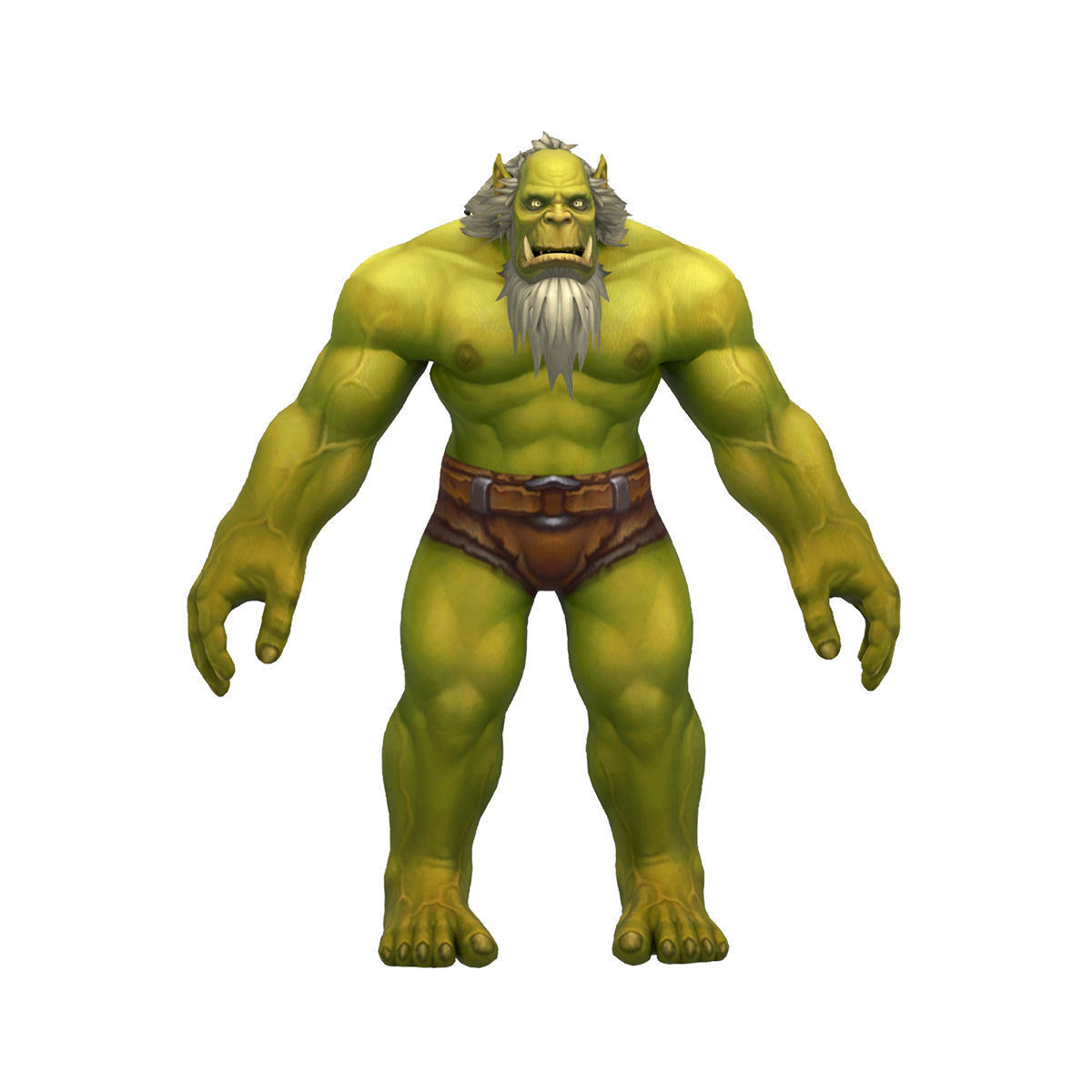 Orc Male Full Rig and HumanIK