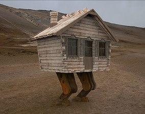 game 3D model Wooden hut