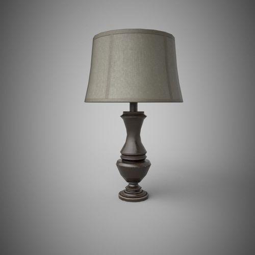 Table Lamp 3d Print Model Cgtrader