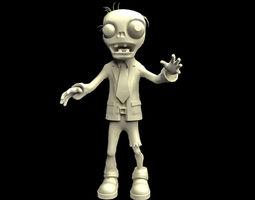3D print model Zombie Plants Character apocalypse