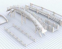 3D asset Bridge Collection