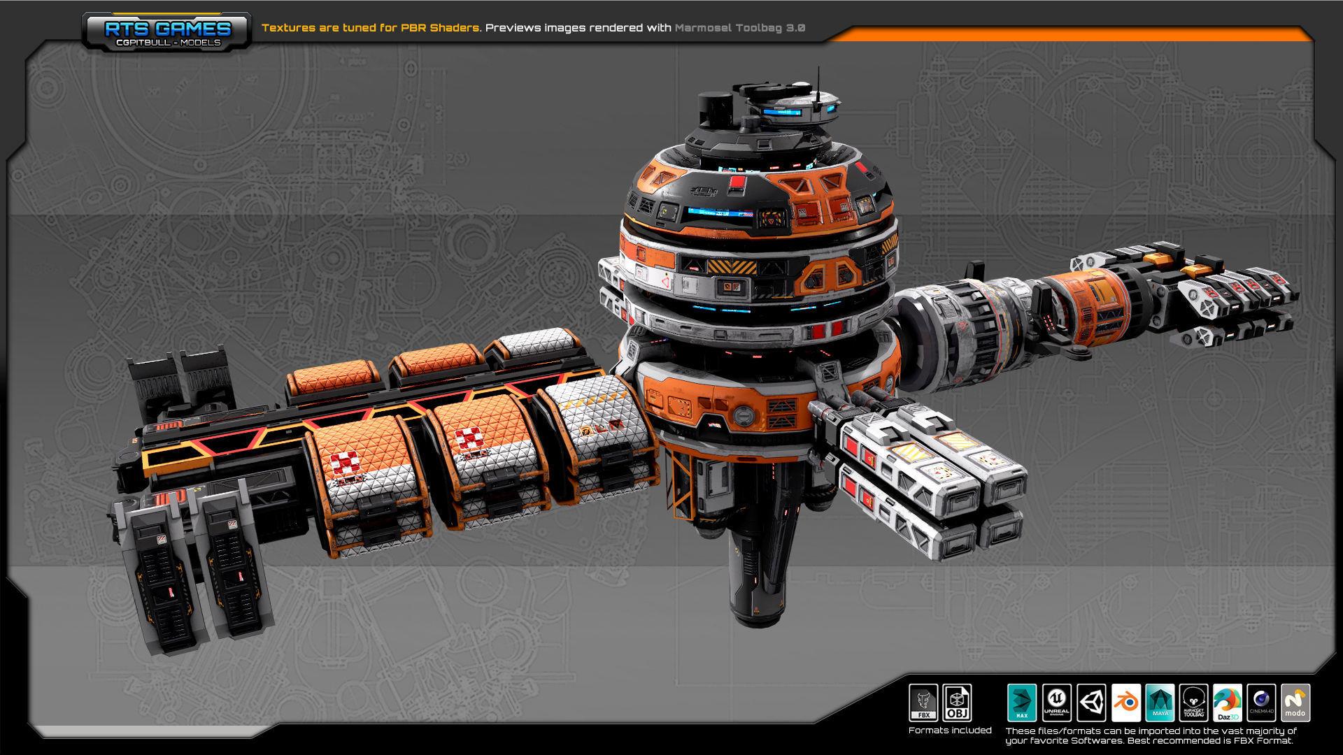 EXPLORER Orbital Station EX7