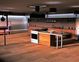 3D model Kitchen Suite