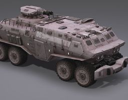 Armored Vehicle 3D