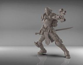 Warrior 75mm 3D printable model