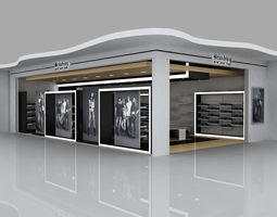 retail interior design 3D