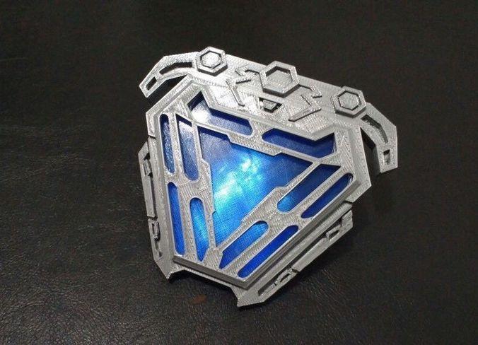 Nanotech Iron Man New Arc Reactor From Infinity War 3d Model Stl 1 ...