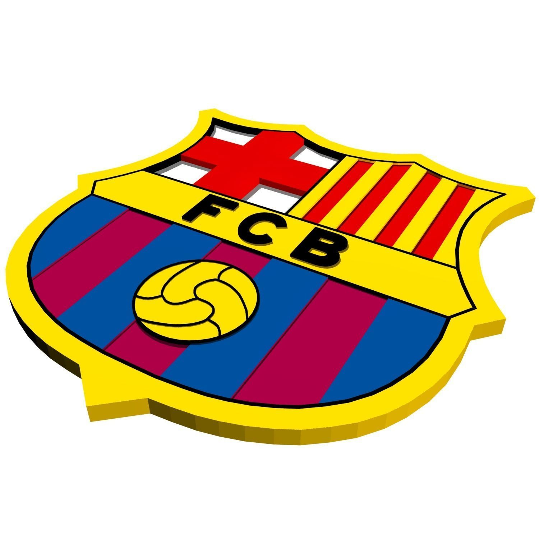 3D asset FC Barcelona Logo | CGTrader