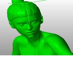Female Nude Pose 3D Printable