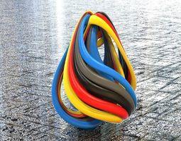 3d printable model twisted taper gravity spherize