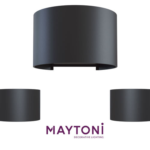 wall lamp o573wl-l6wmaytoni outdoor free 3d model  3d model max obj mtl 1