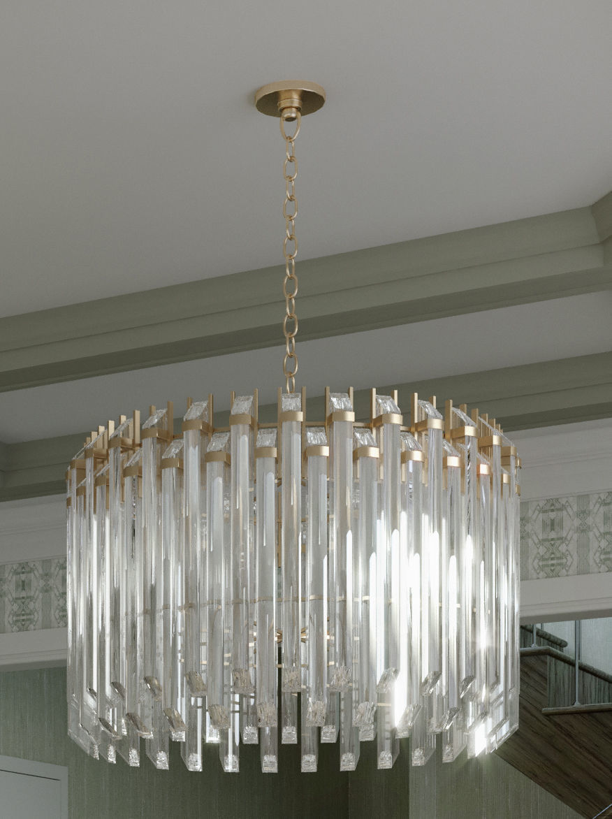 Union Lighting Adele Chandelier Model