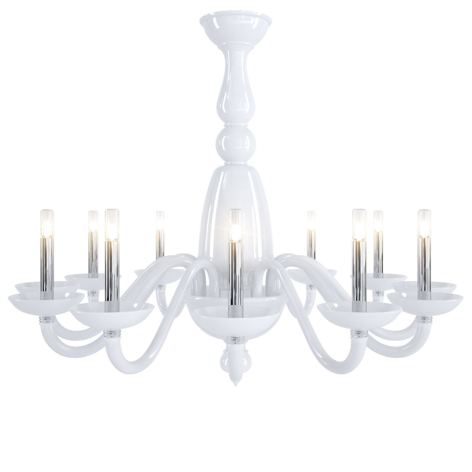 barovier toso palladiano chandelier 3d model max obj fbx. Black Bedroom Furniture Sets. Home Design Ideas