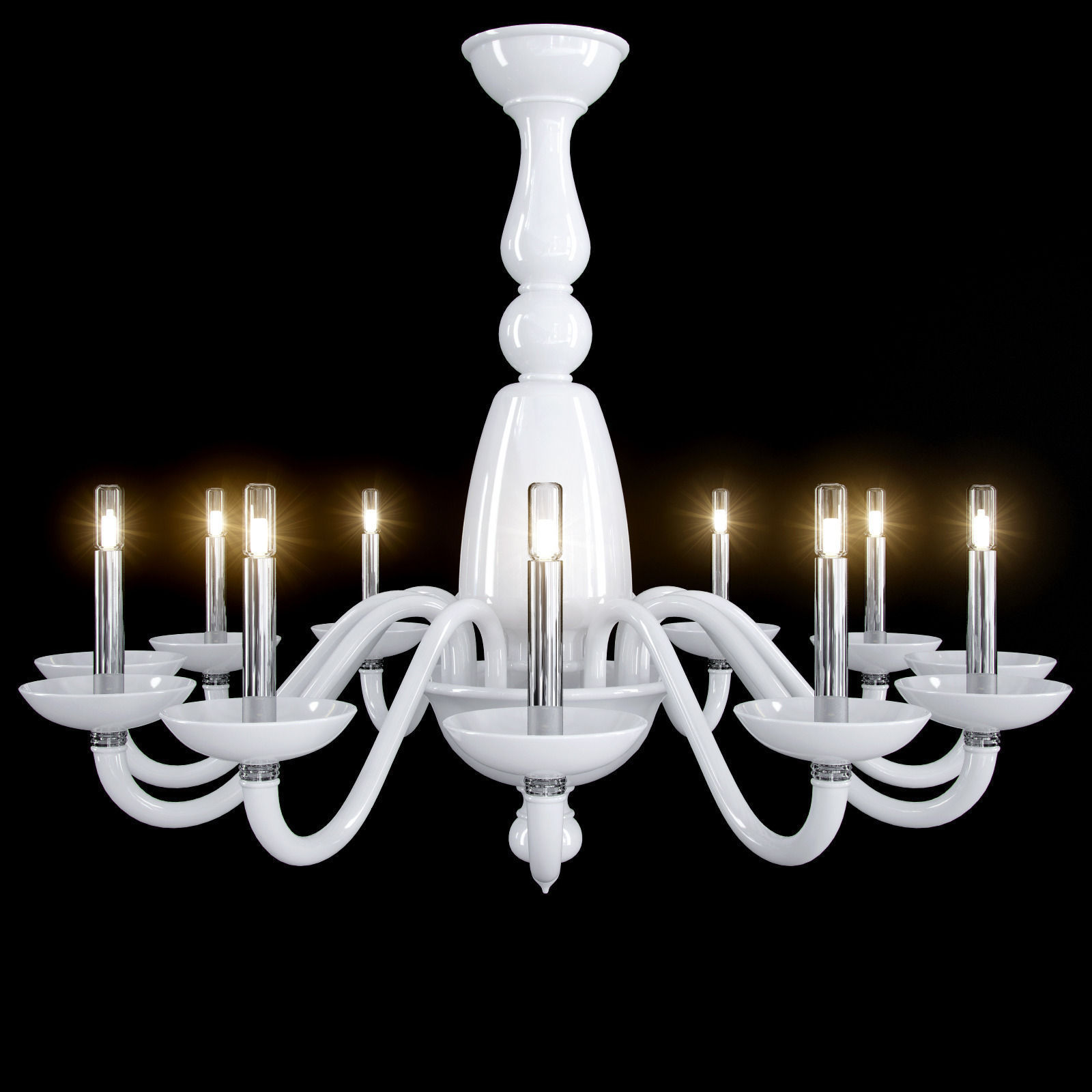 barovier toso palladiano chandelier 3d model max obj. Black Bedroom Furniture Sets. Home Design Ideas