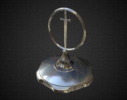 3D Excalibur hood ornament