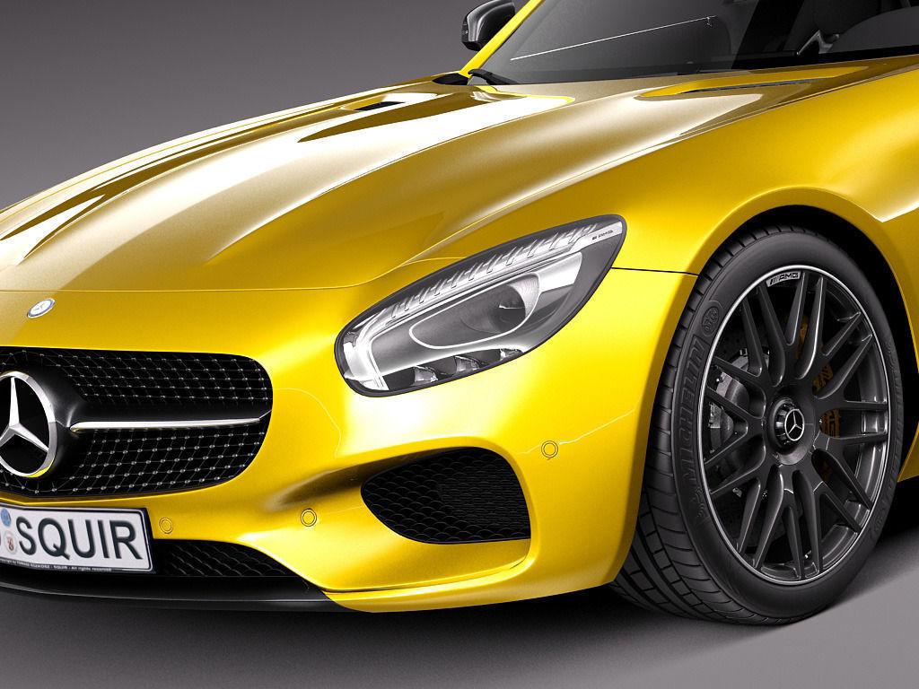 Mercedes benz amg gt s 2016 3d model max obj 3ds fbx c4d for 2016 mercedes benz amg gt