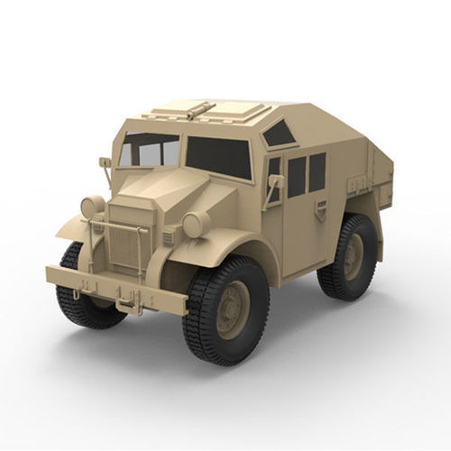 Canadian military pattern truck3D model