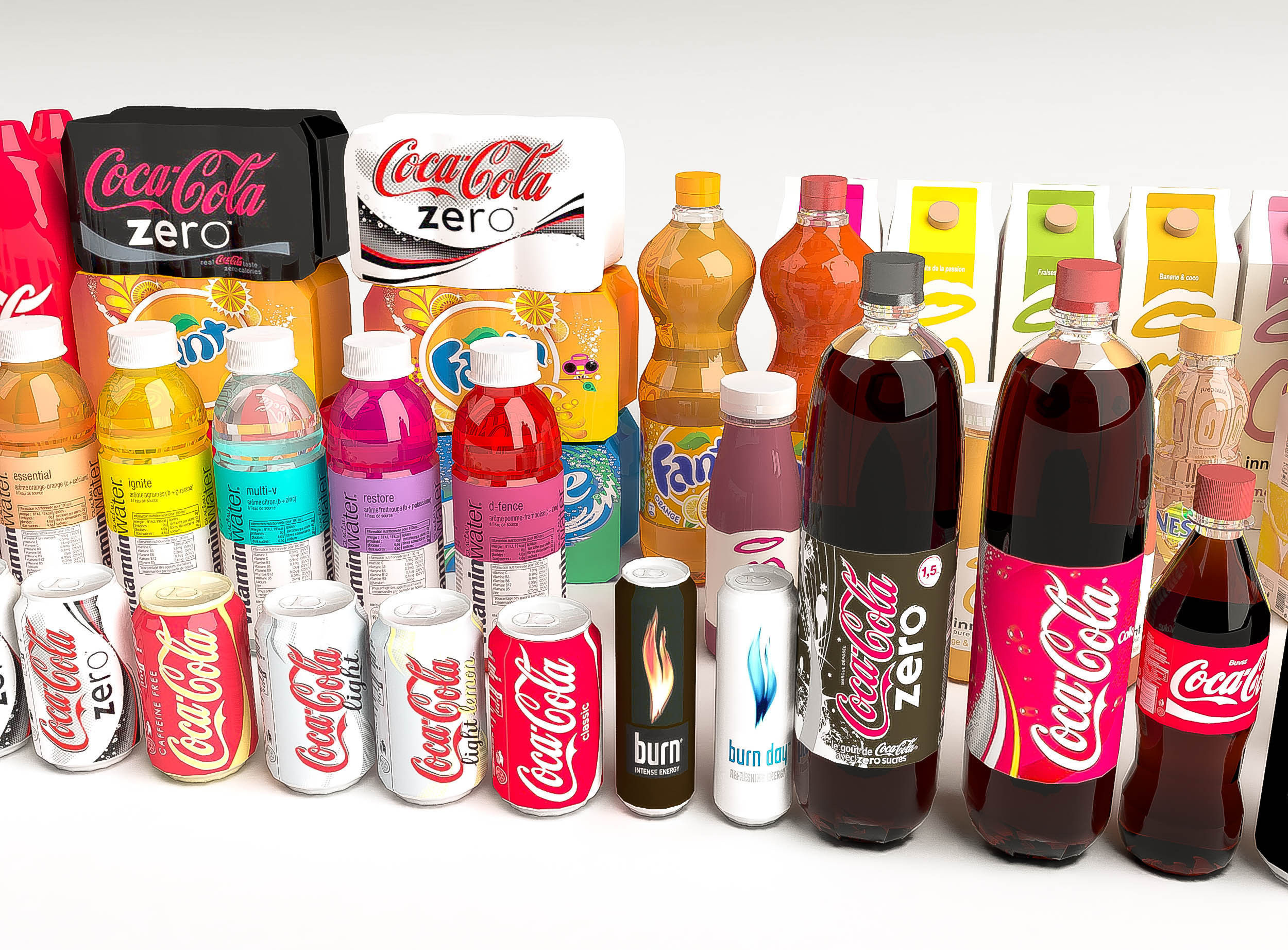 products coca cola 3d model game ready max obj wrl wrz   cgtrader