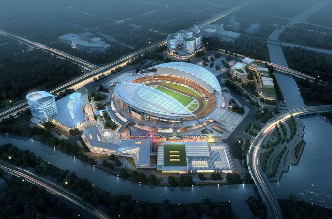Sports Stadium 0023D model