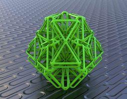 bro woven tetrahedron 3d print model